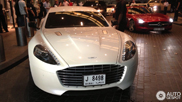 Very fast family car: Aston Martin Rapide S