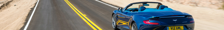 More elegant is not possible: Aston Martin Vanquish Volante