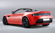 Rendering of the Aston Martin V12 Vantage S Roadster