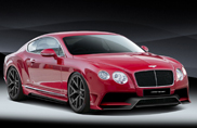 Vörsteiner shows powerful bodykit for Bentley
