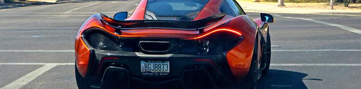 McLaren P1 wil LaFerrari voor avondeten