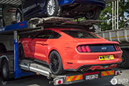 First new Ford Mustang GT is spotted in...