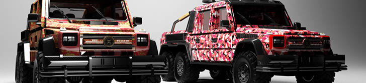 Dartz lanceert G-Squad programma met extravagante G 63 AMG 6x6