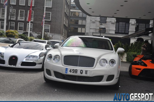 Gespot: Bentley Continental Flying Spur Speed Arabia Special Edition