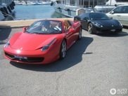 Cannes is just crazy: switching from one 458 Spider to another