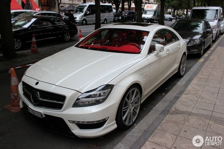 Very powerful Mercedes-Benz Carlsson CLS CK 63 RS spotted for the first time!