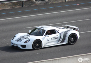 Spotted: Porsche 918 Spyders in Spain