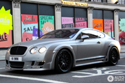 Matte and brutal: Bentley Hamann Imperator GT