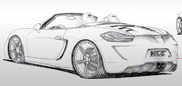 Porsche Boxster 981 by No-Limit-Custom is over the top! 