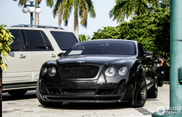 Sinister black: Bentley Continental GT Vrsteiner BR9