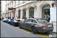 Arabs show off with their exclusive cars in Paris