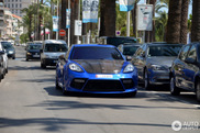 Blue monster: Porsche Mansory Panamera C One in Cannes