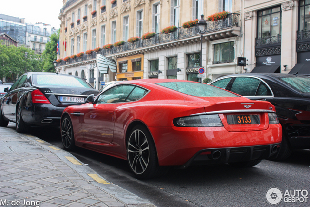Flame Orange makes the Aston Martin DBS Carbon Edition even hotter