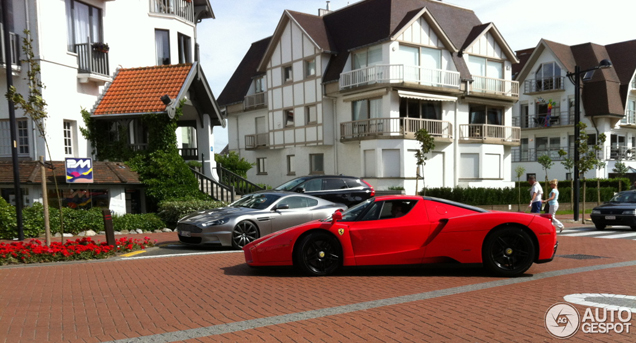 Young owner of a Ferrari Enzo Ferrari spotted