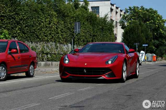Second Ferrari F12berlinetta spotted in Maranello!