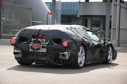 Ferrari Enzo successor spotted with less camouflage!