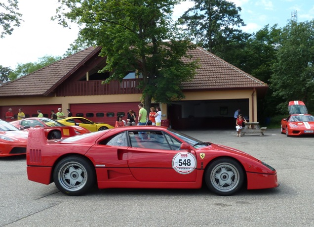 Event: Ferrari Club Germany honors the Ferrari F40