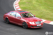Bentley Continental Flying Spur V8 driving around on the Nordschleife