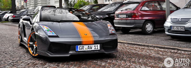 Beautiful Lamborghini Gallardo Spyder BF Performance spotted