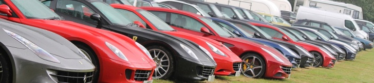 Goodwood Festival of Speed: Spotting auf den Parkplätzen