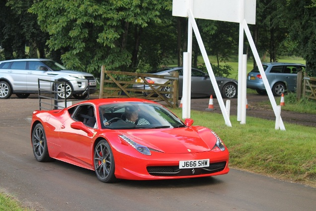 Goodwood Festival of Speed: spotting at the parking lot