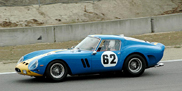 Ferrari 250 GTO involved in an accident in France