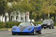 Limited Pagani Zonda HH spotted in Marbella