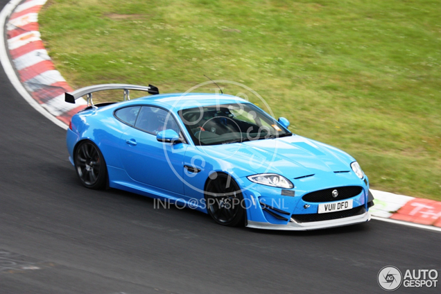 Nog aggresiever! Jaguar XKR-S Track Pack?