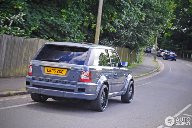 LSE Design Range Rover is finally spotted in the United Kingdom