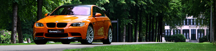 Reportage: BMW M3 E92 Coupe in de kleur Feuer Orange