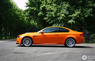 Report: BMW M3 in the colour Feuer Orange