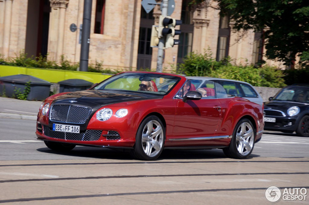 Spotted in Munich: beautiful Bentley Continental GTC