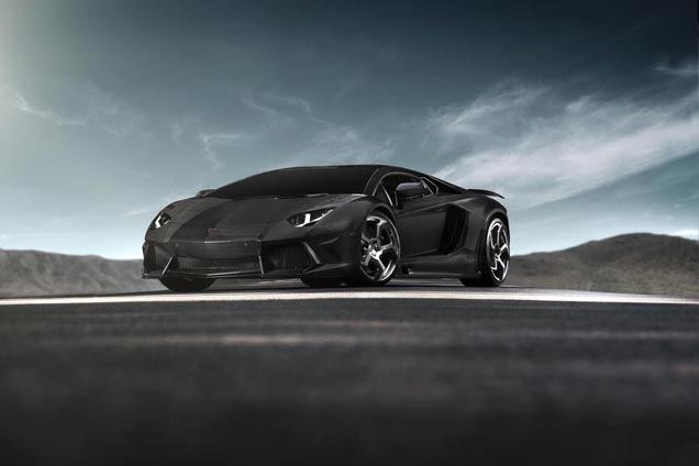 Mansory builds only six copies of the Mansory Carbonado