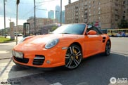 Spotted: special colour on a Porsche 997 Turbo MkII