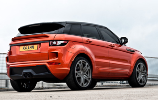 Project Kahn presenteert de RS250 Vesuvius Copper Evoque