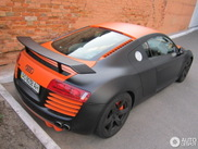 Beautiful composed Audi R8 spotted in Kiev