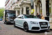 Suzuka Grey makes the Audi RS5 look tough