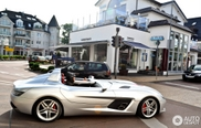 The ultimate summer car: Mercedes-Benz SLR McLaren Stirling Moss spotted