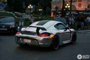 From matte black to chrome: Cayman Techart GT Widebody