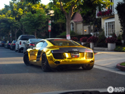Spotted: Tyga his shining Audi R8