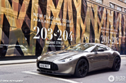 Fascinating Aston Martin V12 Zagato spotted!