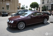 Deportividad con estilo: Bentley Continental GT Speed marrón