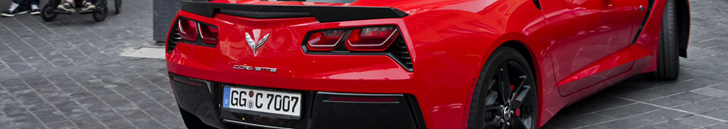 Corvette C7 Stingray pavoge sou ralyje Corvette!