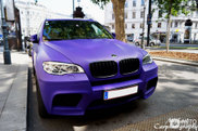 Is matte purple a good colour for the BMW X5 M?