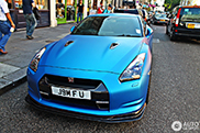 Special Nissan GT-R spotted in London