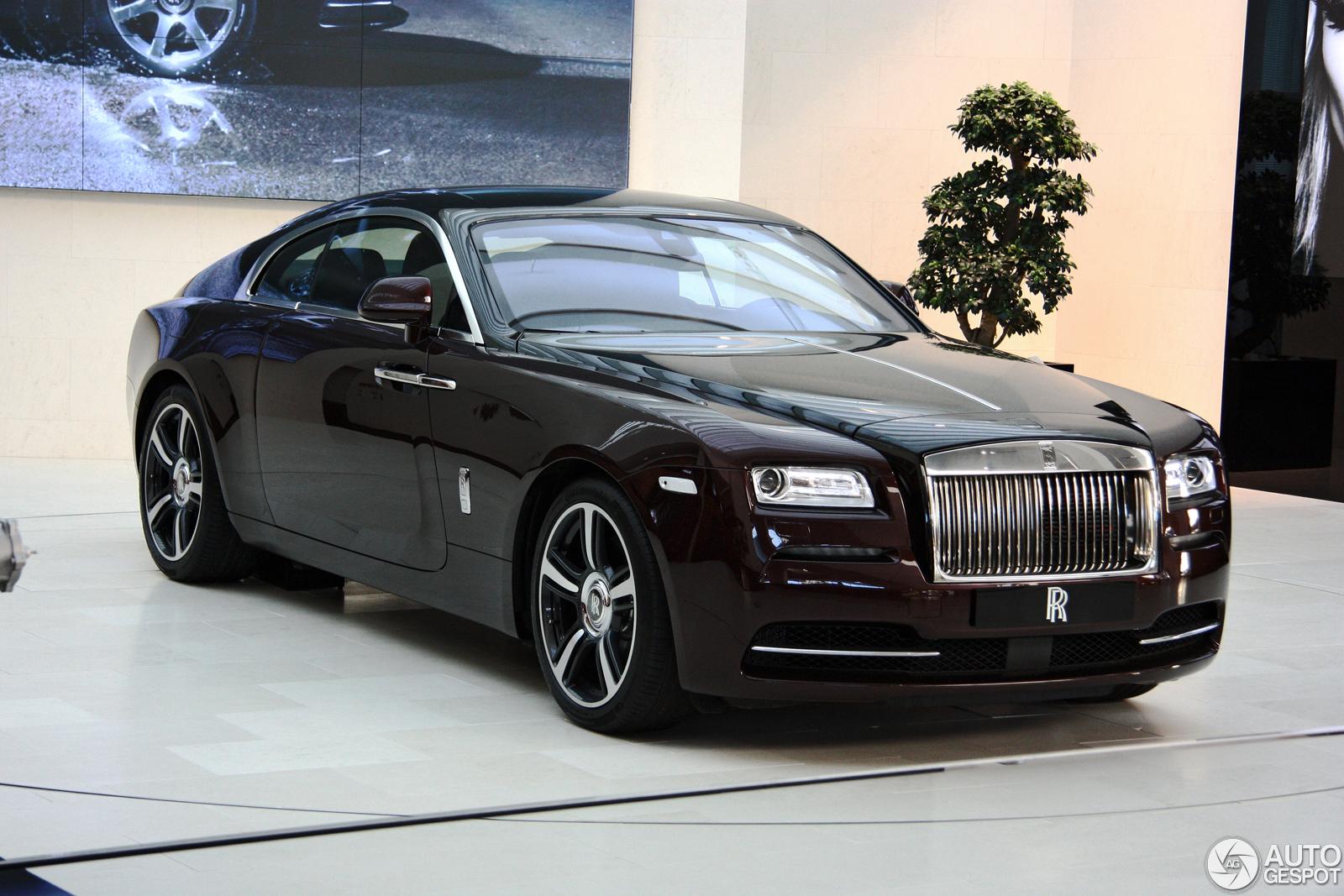BMW shows beautiful Rolls-Royce Wraith at BMW-Welt