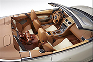 Q by Aston Martin gives the DB9 Volante an Equestrian theme