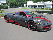 Unique Pagani Huayra arrived in the United States