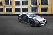 Car collector can't leave his Mercedes-Benz CLS untouched