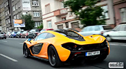 McLaren P1 shows up in Prague